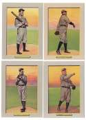 1911 Turkey Red T3 Reprints - CLEVELAND INDIANS Team Set