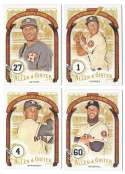 2016 Topps Allen and Ginter The Numbers Game - HOUSTON ASTROS Team set