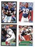 1993 Bowman Football Team Set - BUFFALO BILLS