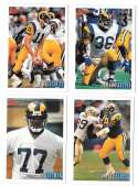 1993 Bowman Football Team Set - LOS ANGELES RAMS