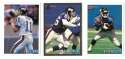 1993 Bowman Football Team Set - NEW YORK GIANTS