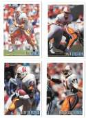 1993 Bowman Football Team Set - TAMPA BAY BUCCANEERS