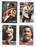 1993 Bowman Football Team Set - WASHINGTON REDSKINS