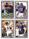 2001 Topps Collections Football Team Set - BALTIMORE RAVENS