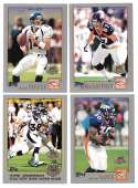 2001 Topps Collections Football Team Set - DENVER BRONCOS