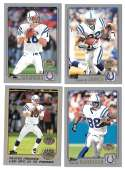 2001 Topps Collections Football Team Set - INDIANAPOLIS COLTS