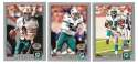 2001 Topps Collections Football Team Set - MIAMI DOLPHINS