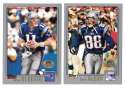 2001 Topps Collections Football Team Set - NEW ENGLAND PATRIOTS