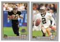 2001 Topps Collections Football Team Set - NEW ORLEANS SAINTS