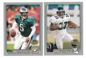 2001 Topps Collections Football Team Set - PHILADELPHIA EAGLES