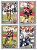 2001 Topps Collections Football Team Set - SAN FRANCISCO 49ERS