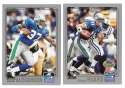 2001 Topps Collections Football Team Set - SEATTLE SEAHAWKS
