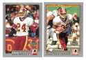 2001 Topps Collections Football Team Set - WASHINGTON REDSKINS