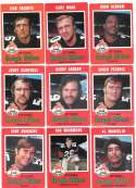 1971 O-Pee-Chee (OPC) CFL Near Team Set - Ottawa Rough Riders missing 5 cards
