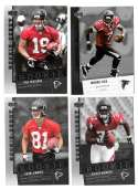 2006 Upper Deck Rookie Debut 1-200 Football Team Set - ATLANTA FALCONS