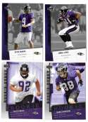 2006 Upper Deck Rookie Debut 1-200 Football Team Set - BALTIMORE RAVENS