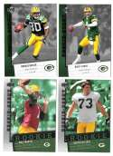 2006 Upper Deck Rookie Debut 1-200 Football Team Set - GREEN BAY PACKERS