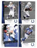 2006 Upper Deck Rookie Debut 1-200 Football Team Set - INDIANAPOLIS COLTS