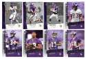 2006 Upper Deck Rookie Debut 1-200 Football Team Set - MINNESOTA VIKINGS
