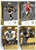 2006 Upper Deck Rookie Debut 1-200 Football Team Set - NEW ORLEANS SAINTS