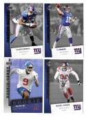 2006 Upper Deck Rookie Debut 1-200 Football Team Set - NEW YORK GIANTS