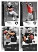 2006 Upper Deck Rookie Debut 1-200 Football Team Set - OAKLAND RAIDERS