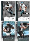 2006 Upper Deck Rookie Debut 1-200 Football Team Set - PHILADELPHIA EAGLES