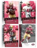 2006 Upper Deck Rookie Debut 1-200 Football Team Set - SAN FRANCISCO 49ERS