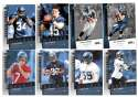 2006 Upper Deck Rookie Debut 1-200 Football Team Set - SEATTLE SEAHAWKS