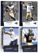 2006 Upper Deck Rookie Debut 1-200 Football Team Set - ST. LOUIS RAMS