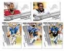 2010 Prestige Football Team Set (1-300) - DETROIT LIONS