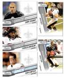 2010 Prestige Football Team Set (1-300) - NEW ORLEANS SAINTS - - Read