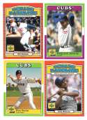 2001 Upper Deck Decade of the 70s - CHICAGO CUBS Team Set