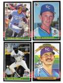 1985 DONRUSS - KANSAS CITY ROYALS Team Set