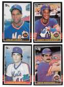 1985 DONRUSS - NEW YORK METS Team Set