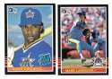 1985 DONRUSS - SEATTLE MARINERS Team Set