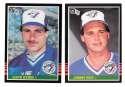 1985 DONRUSS - TORONTO BLUE JAYS Team Set