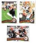 2011 Topps Football Team Set Cleveland Browns - 13 Cards