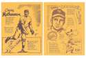 1977 Bob Parker More Baseball Cartoons (Yellow) - NEW YORK GIANTS Team Set