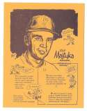 1977 Bob Parker More Baseball Cartoons (Yellow) - 12 Roy Majtyka (Indianpolis Indians)