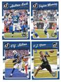2016 Donruss Football (1-400) Team Set - INDIANAPOLIS COLTS