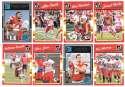 2016 Donruss Football (1-400) Team Set - KANSAS CITY CHIEFS