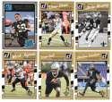 2016 Donruss Football (1-400) Team Set - NEW ORLEANS SAINTS