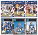 2016 Donruss Football (1-400) Team Set - NEW YORK GIANTS