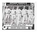 1948 Swell Sports Thrills Reprints - PHILADELPHIA A's Team set