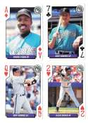 1994 Playing Cards Rookies FLORIDA MARLINS 4 Cards