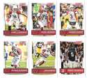 2016 Score (1-440) Football Team Set Arizona Cardinals (12 cards)