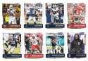 2016 Score (1-440) Football Team Set Dallas Cowboys (14 cards)