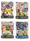 2016 Score (1-440) Football Team Set Green Bay Packers (12 cards)