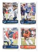 2016 Score (1-440) Football Team Set Indianapolis Colts (12 cards)